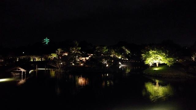 後楽園(夜) (1)