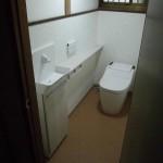 改修後 1階トイレ