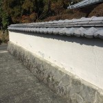 改修前:塀