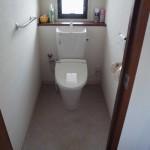 改修後 トイレ