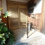 改修後:玄関