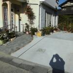 改修後:玄関アプローチ