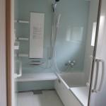 改修後:浴室