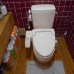 施工前:トイレ
