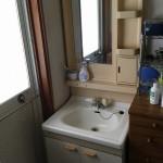 改修前:洗面化粧台
