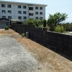 改修前:ブロック塀