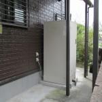 施工前:電気温水器