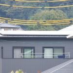 施工後:太陽光発電
